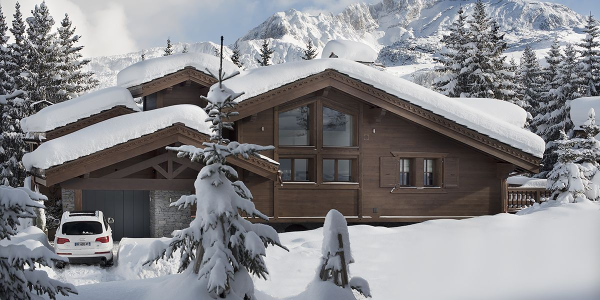 Ebony and Co project Chalet Le Coquelicot Courchevel