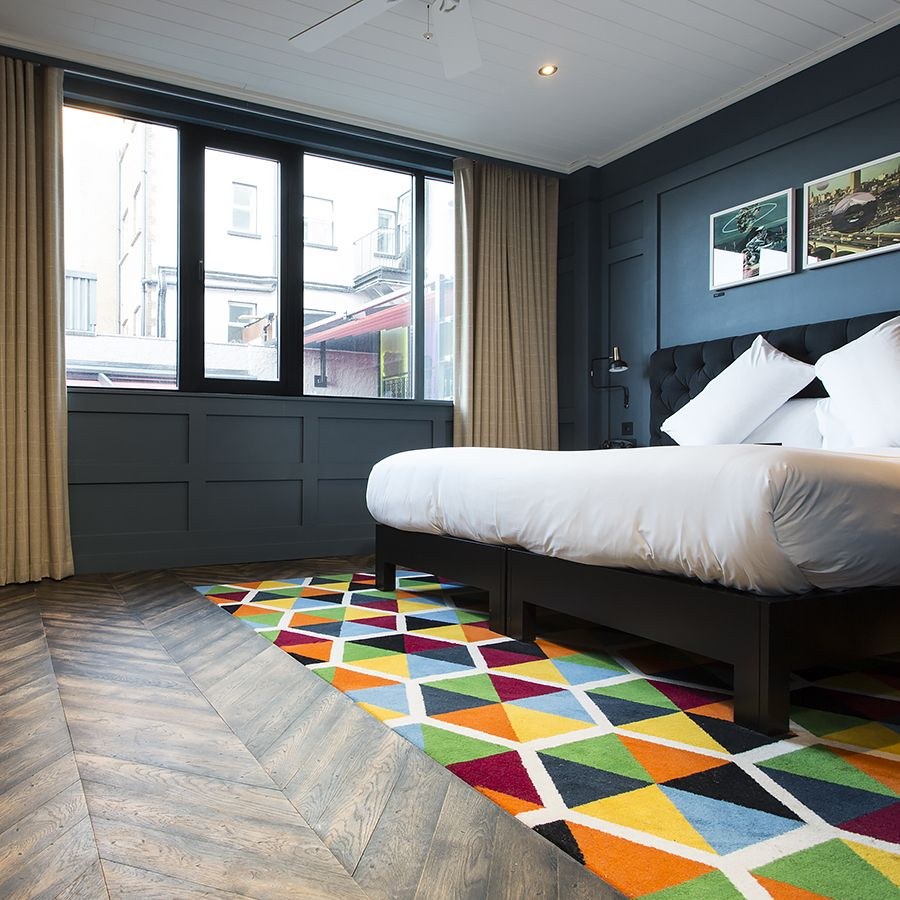 Ebony and Co Project - The Dean Hotel - Handcrafted Hardwood Floors