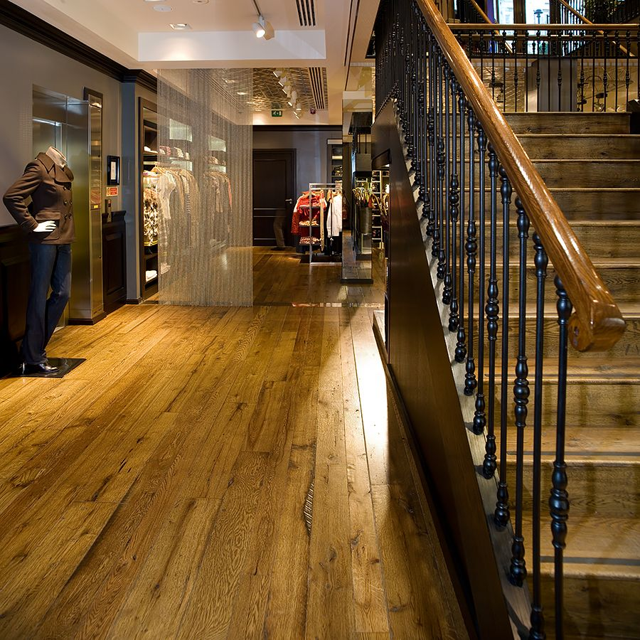 Ebony and Co Project - Country and American Oak - Handcrafted Hardwood Floors